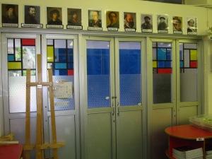 Mondrian Doors