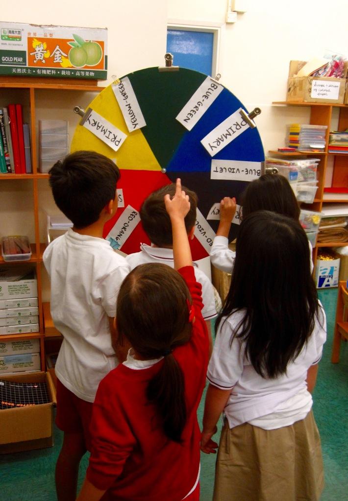 Color Wheel Vocabulary