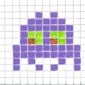 Space Invader_Purple