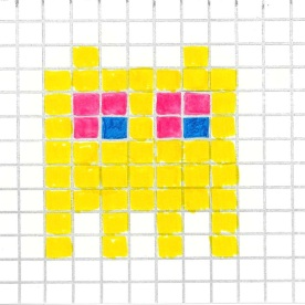 Space Invader_Yellow